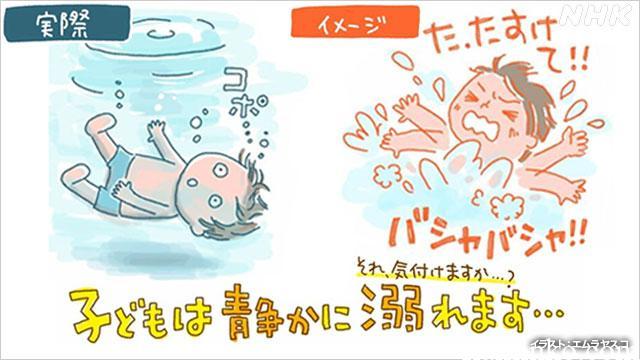 キャンプ 注意点 危険性 溺れる