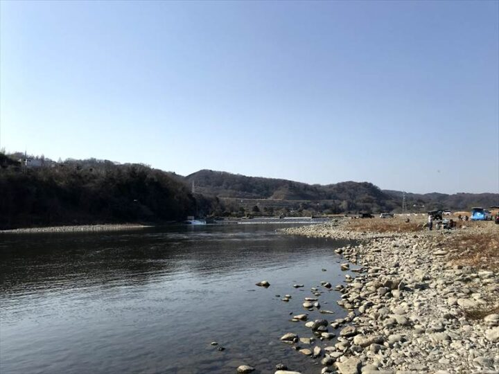 高田橋多目的広場 キャンプ 相模川