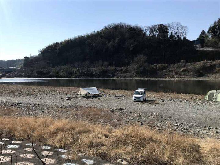 高田橋多目的広場 キャンプ デイキャンプ