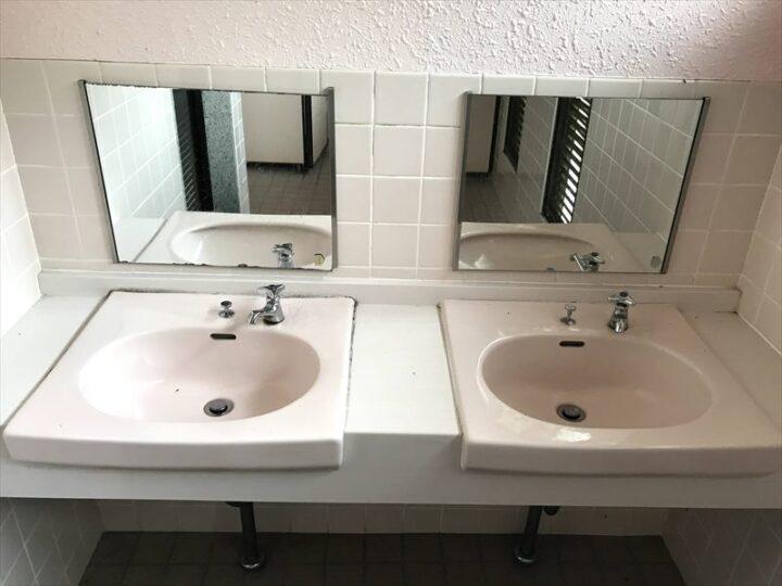 だるま山高原キャンプ場 トイレ 洗面台