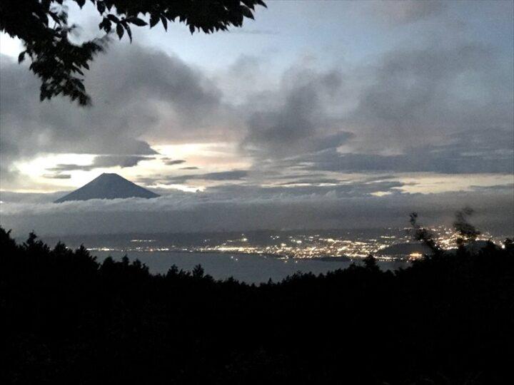 だるま山高原キャンプ場 夕方