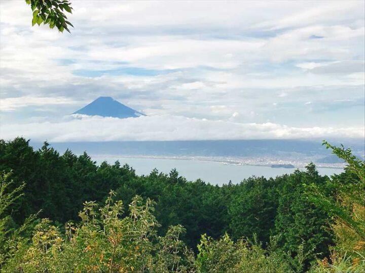 だるま山高原キャンプ場 富士山