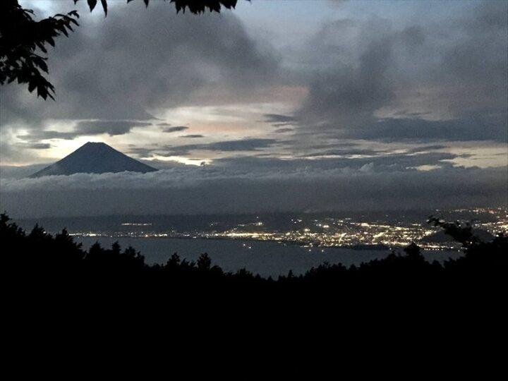 だるま山高原キャンプ場 夜の眺め
