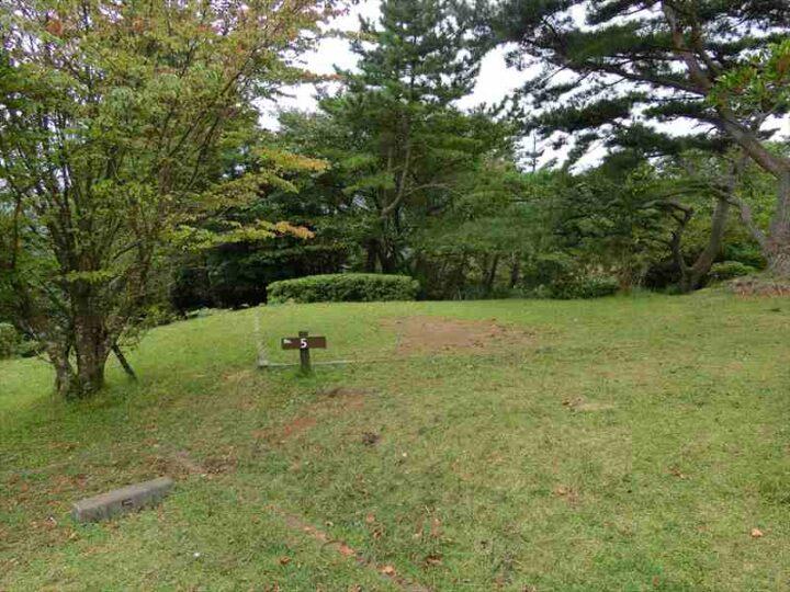 だるま山高原キャンプ場 案内図 フリーサイト