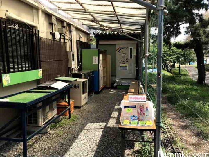 上大島キャンプ場 シャワー室