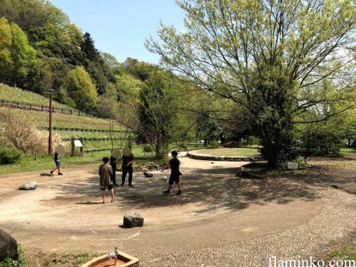 上大島キャンプ場 池