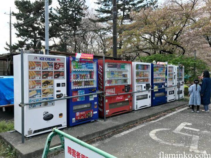 上大島キャンプ場 自販機