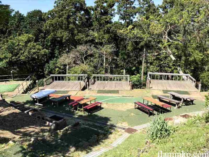 田代青少年自然の家 キャンプ場 サイト