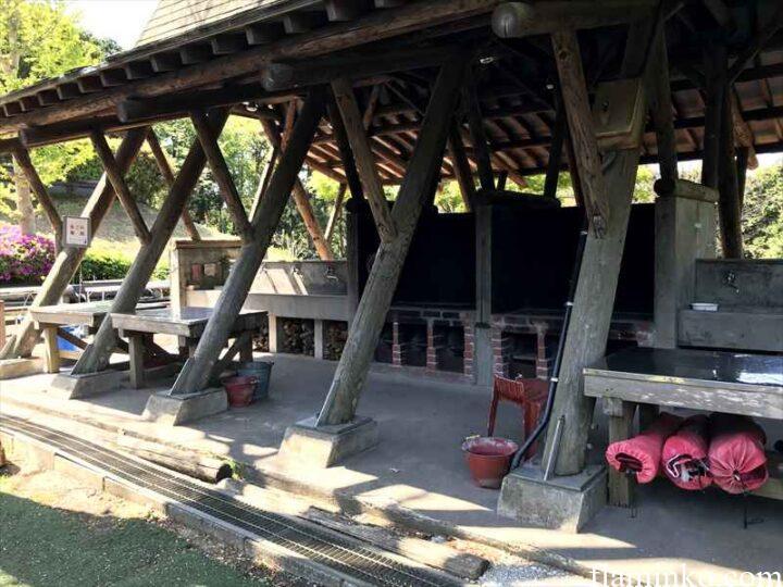 田代青少年自然の家 キャンプ場 炊事場