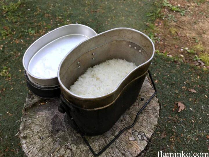 田浦タワシ梅の里 キャンプ 飯盒