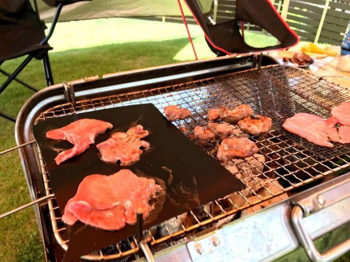 ニトリ BBQシート バーベキューシート 肉を焼く