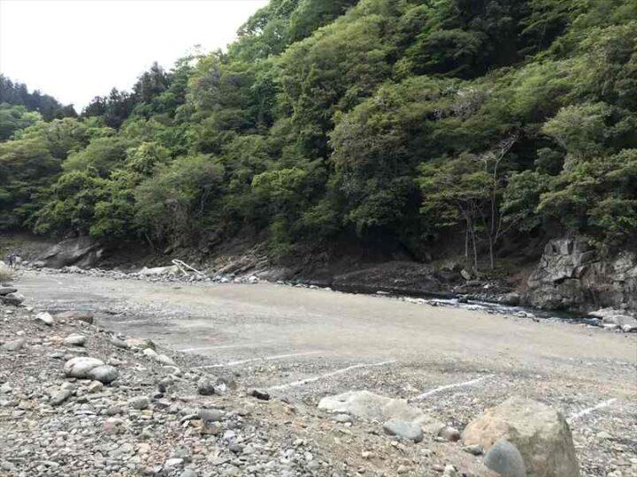 青野原野呂ロッジキャンプ場 雨後