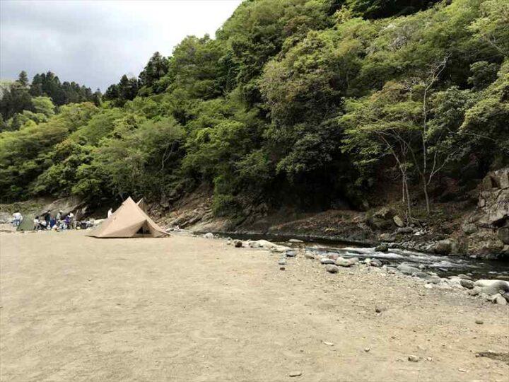 青野原野呂ロッジキャンプ場 デイキャンプ4