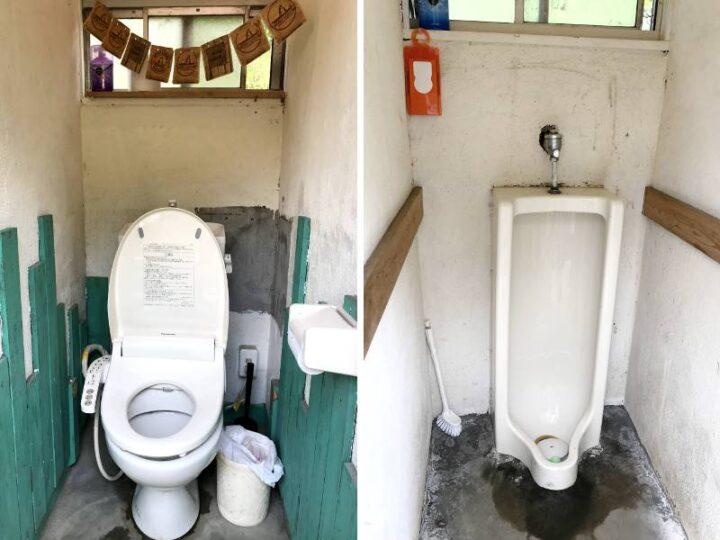 青野原野呂ロッジキャンプ場 トイレ