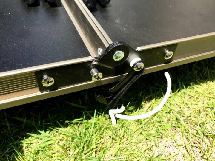 クイックキャンプ ヴィンテージテーブル デメリット2