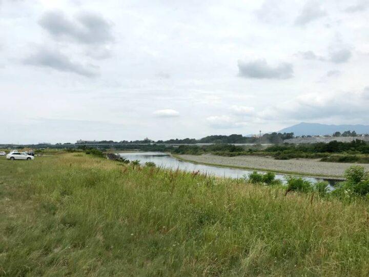 水と緑の風広場 キャンプ バーベキュー 相模川