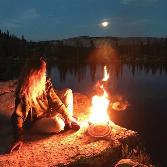 世界の面白いキャンプ道具 Radiate Campfire Original3