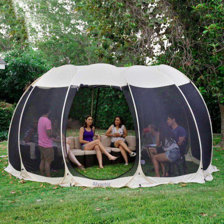 世界の面白いキャンプ道具 Leedor Pop Up Screen House