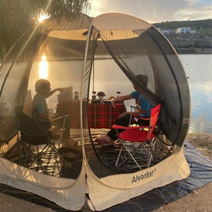 世界の面白いキャンプ道具 Leedor Pop Up Screen House3