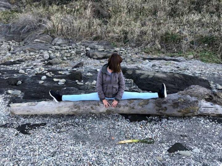 黒崎の鼻 開脚キャンプ2