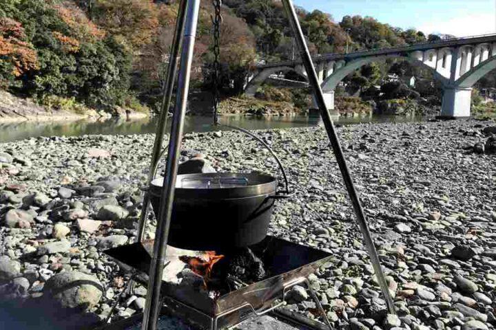 キャンプ バーベキュー以外の料理 おでん ダッチオーブン