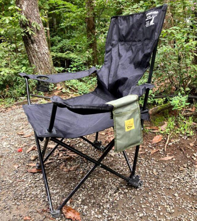 100均 キャンプ チェアポケット 椅子に付ける